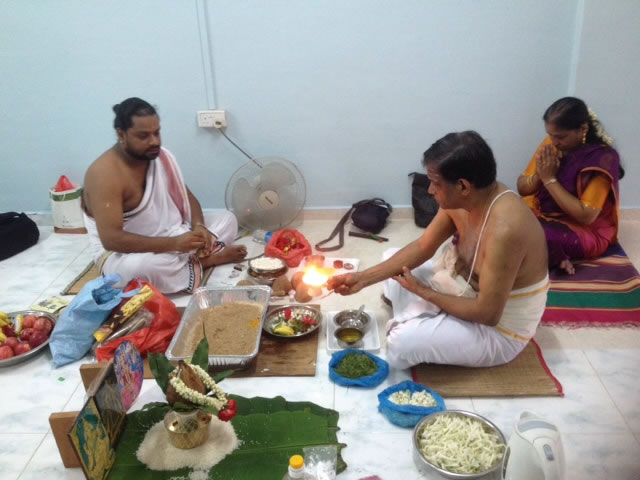 Ganapathi Homam at Clementi